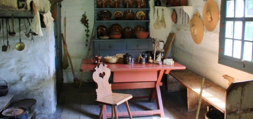 Early 19th Century Kitchen Detail