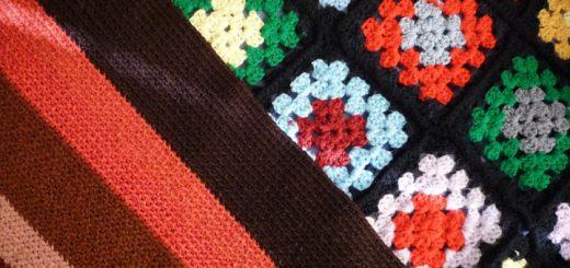 Oma & Nana Afghans Detail