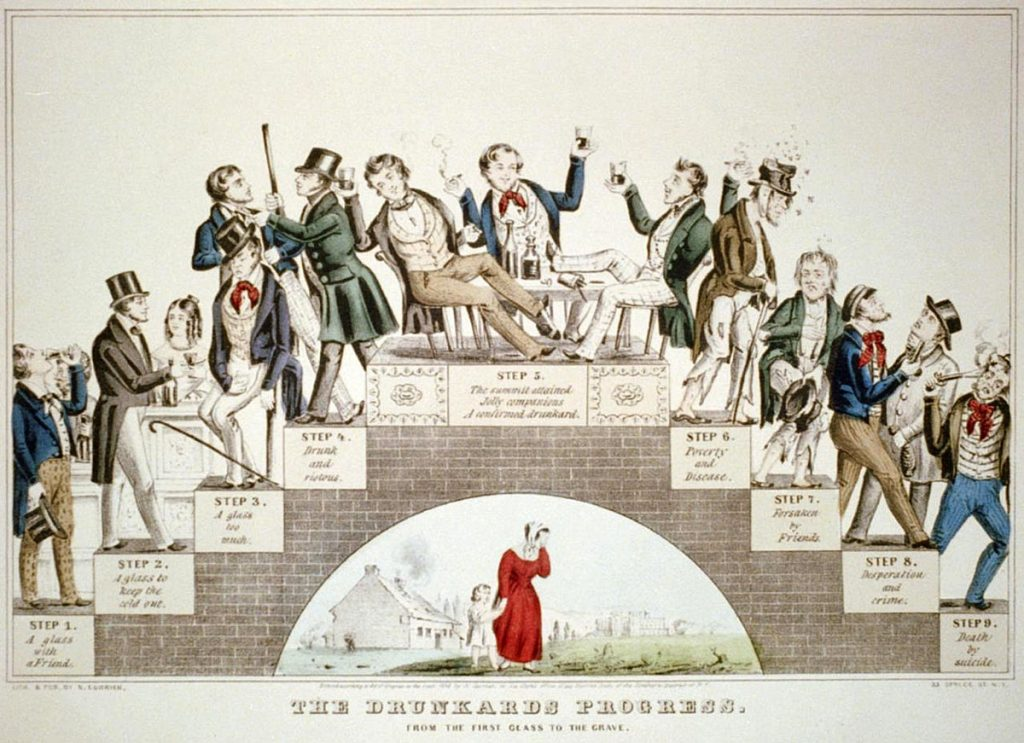 The Drunkard's Progress: From First Glass to the Grave, 1846