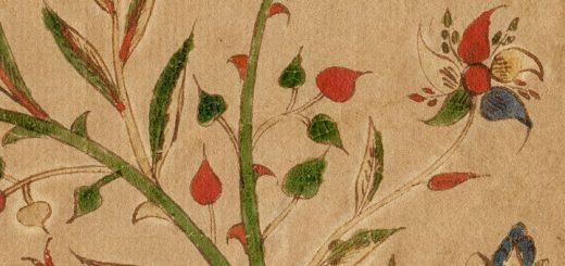 Close up Anna Elizabeth Hagenbuch Fraktur