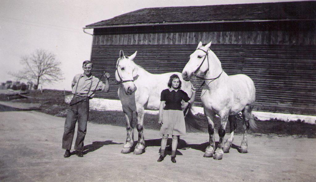 Lee & Mary Hagenbuch 1943