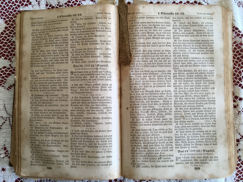 Andrew Snyder Bible German Text