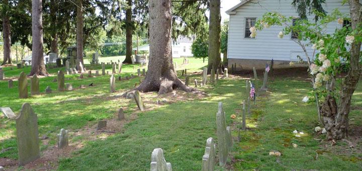 Hidlay Church Cemetery Detail