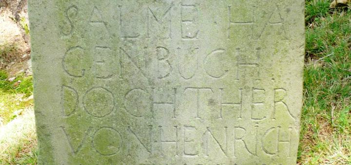 """Salome """"Salme"""" Hagenbuch Gravestone"""