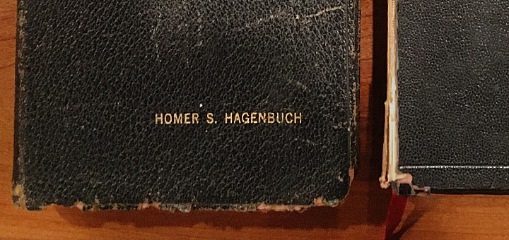 Homer Hagenbuch Bible Detail