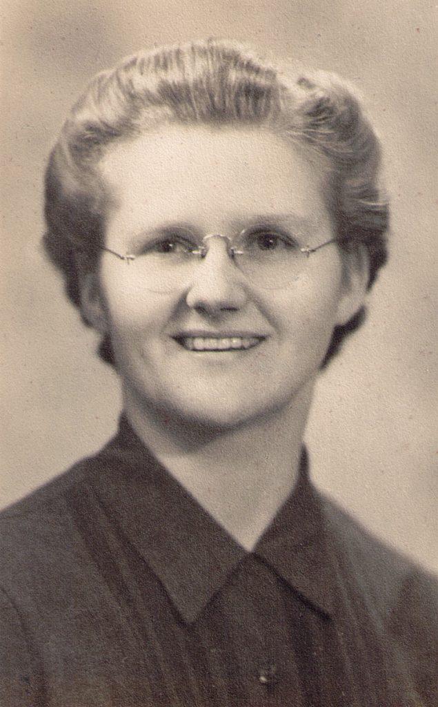 Julia Catherine Hagenbuch 1935