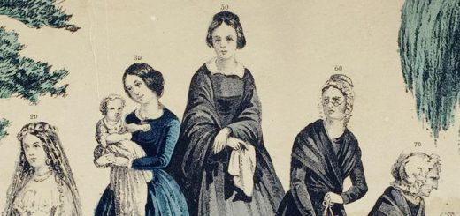 The Life and Age of Woman, Currier & Ives, Detail