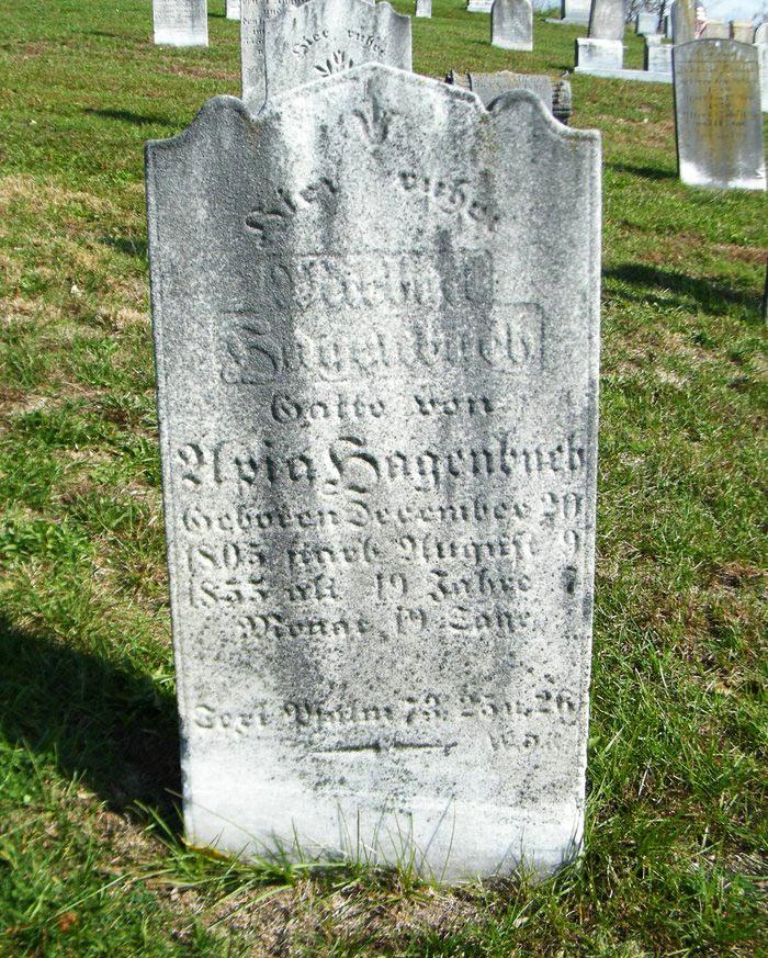 Michael Hagenbuch Gravestone