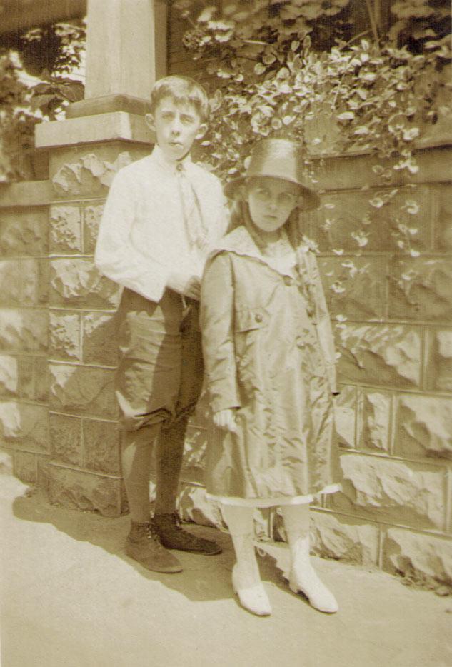 Edgar & Mary Ann Reed, 1918