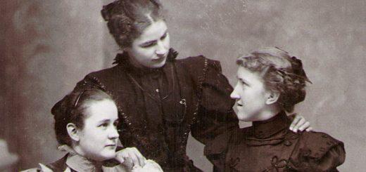 Kathryn Hagenbuch, Margaret Lindner & Bessie Coleman, 1898