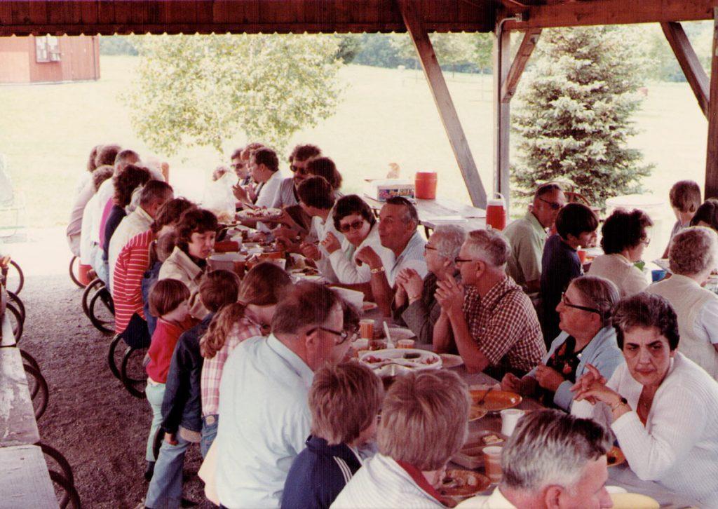 Hagenbuch Family Reunion 1982