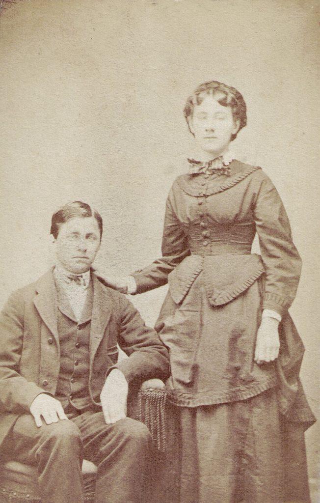 Joseph & Emma Frances Hagenbuch, 1875