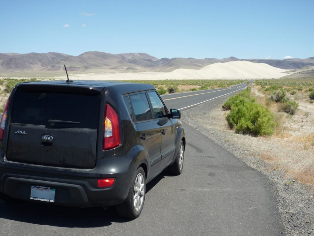Kia-stoga Wagon, Sand Mountain, Nevada