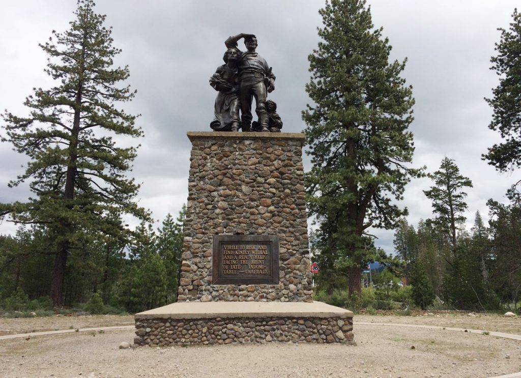Pioneer Monument, Truckee, California