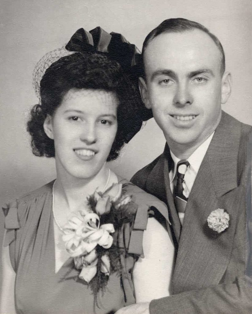 Raymond Larue and Dawn Shultz Hagenbuch, 1948