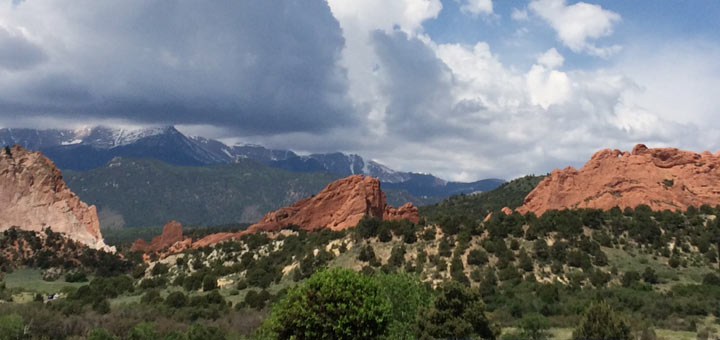 Rocky Mountains, Garden of the Gods