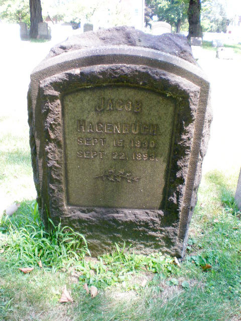 Jacob Hagenbuch, b. 1830