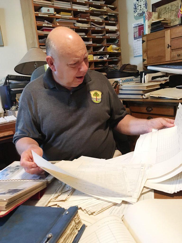 Mark Hagenbuch, Genealogy Sheets
