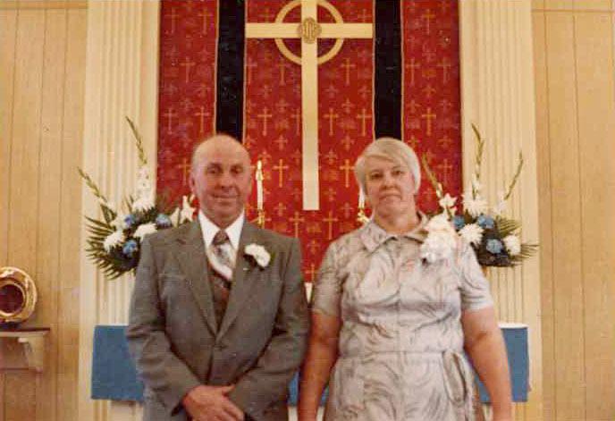 Raymond Larue & Dawn (Shultz) Hagenbuch, Oak Grove Lutheran Church