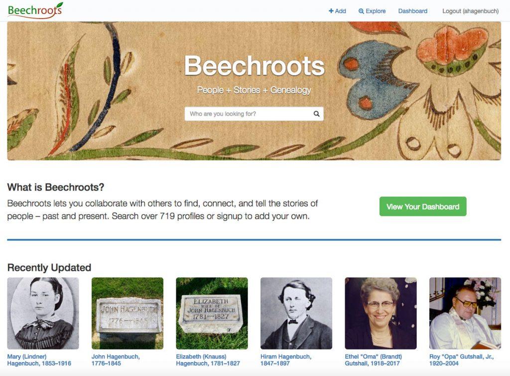 Beechroots Homepage