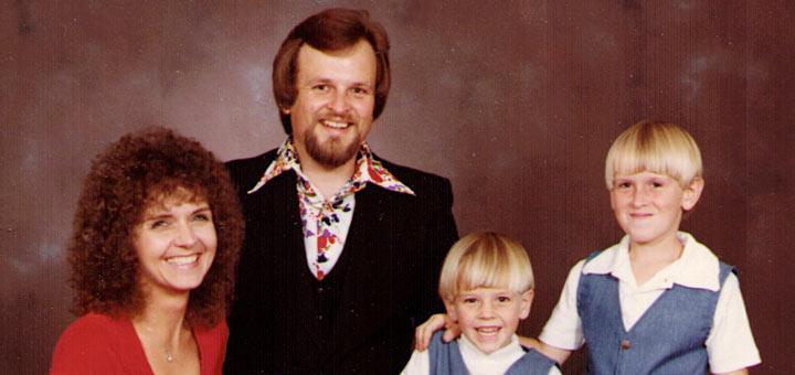 Earl Hagenbuch, Jr. Family 1981 Detail