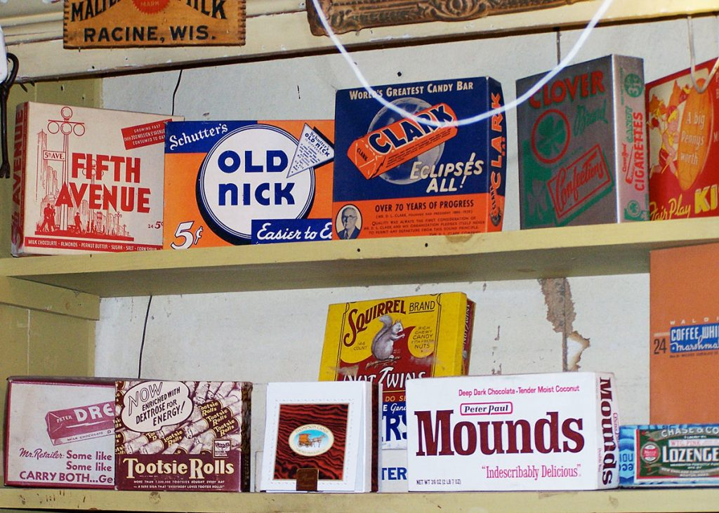 Vintage Candy Boxes