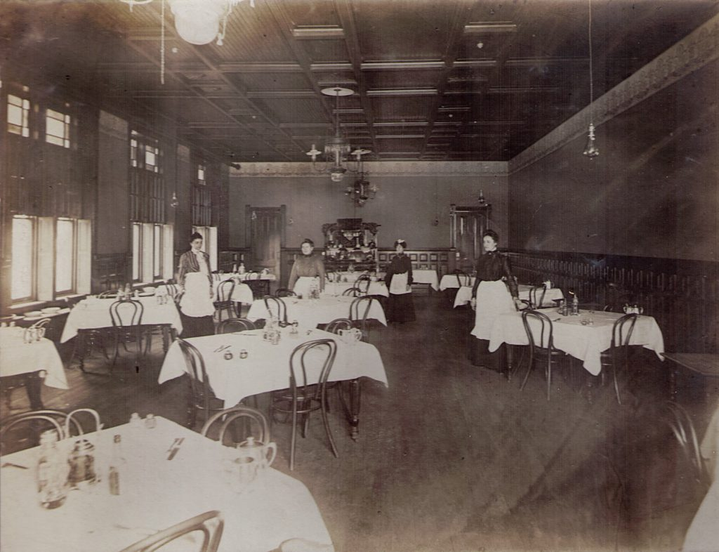 Haag Hotel Dining Room Milton PA 1903