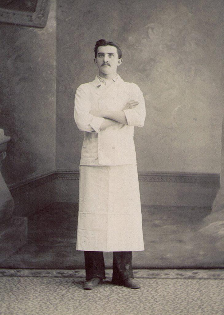 Haag Hotel Waiter Milton PA 1900