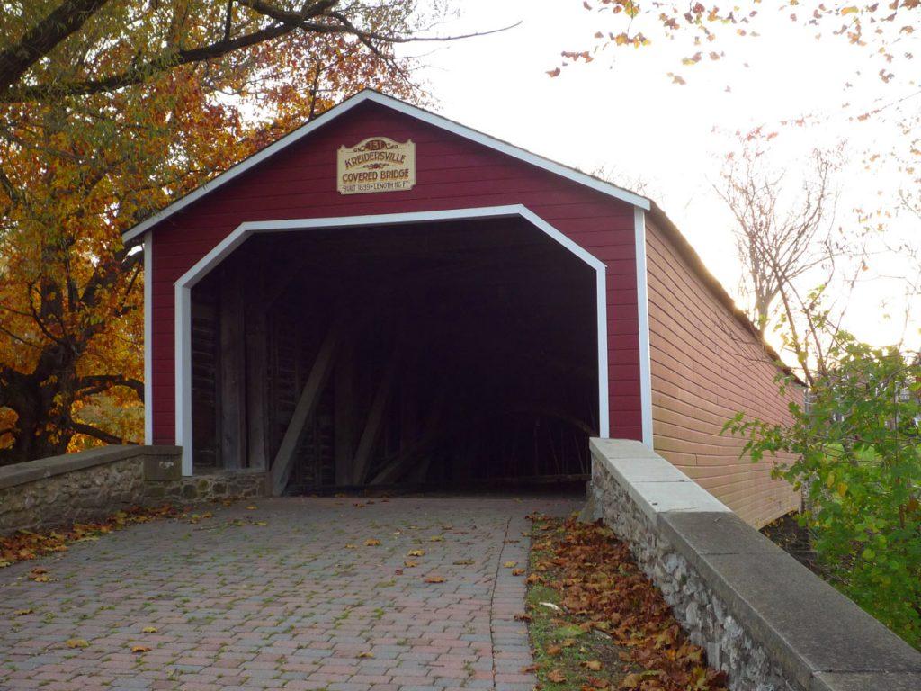 Kreidersville Covered Bridge 1839