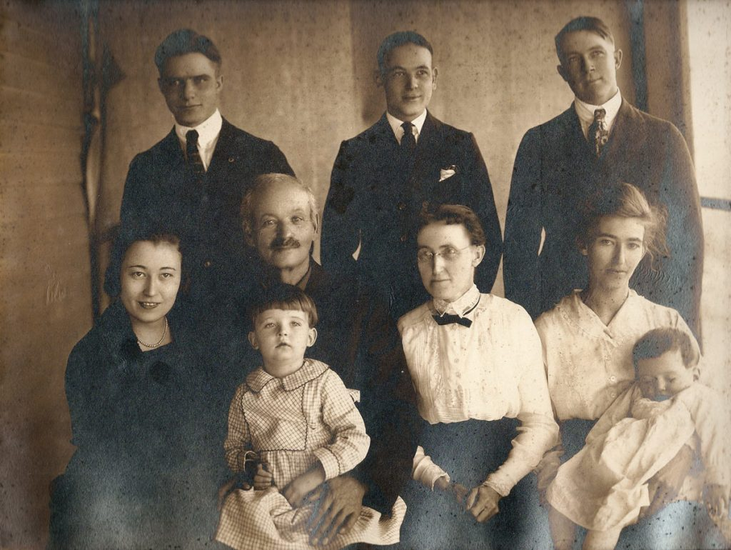 Charles Christian and Josie Hagenbuch Family