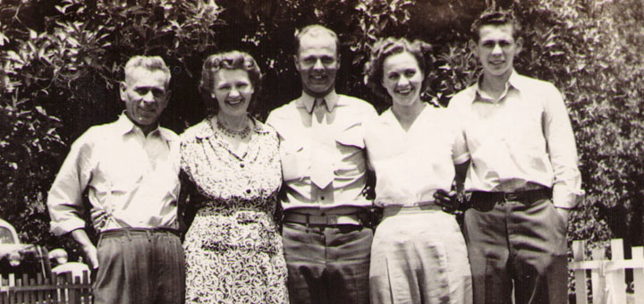 Ernest and Hannah Hagenbuch, 1943