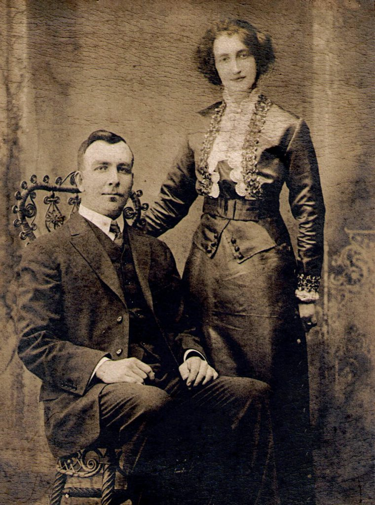 John and Bessie Sechler Wedding 1912