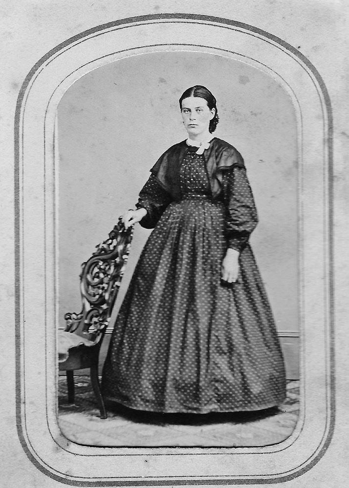 Lucy Ann (Knepper) Hagenbuch, 1865