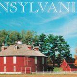 Round Barn Postcard Front Detail