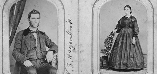 William S. Hagenbuch, Lucy Ann (Knepper) Hagenbuch, 1865