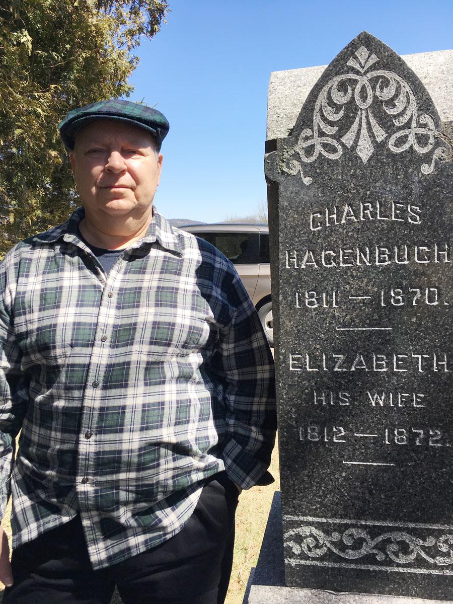 Charles Hagenbuch Gravestone