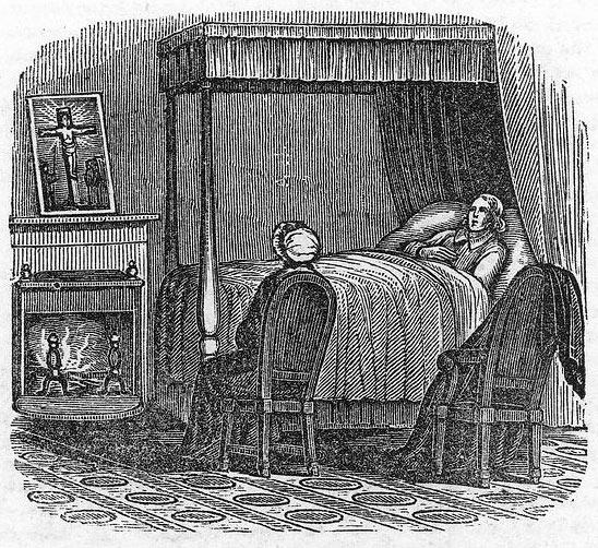 Franklin Deathbed 1790