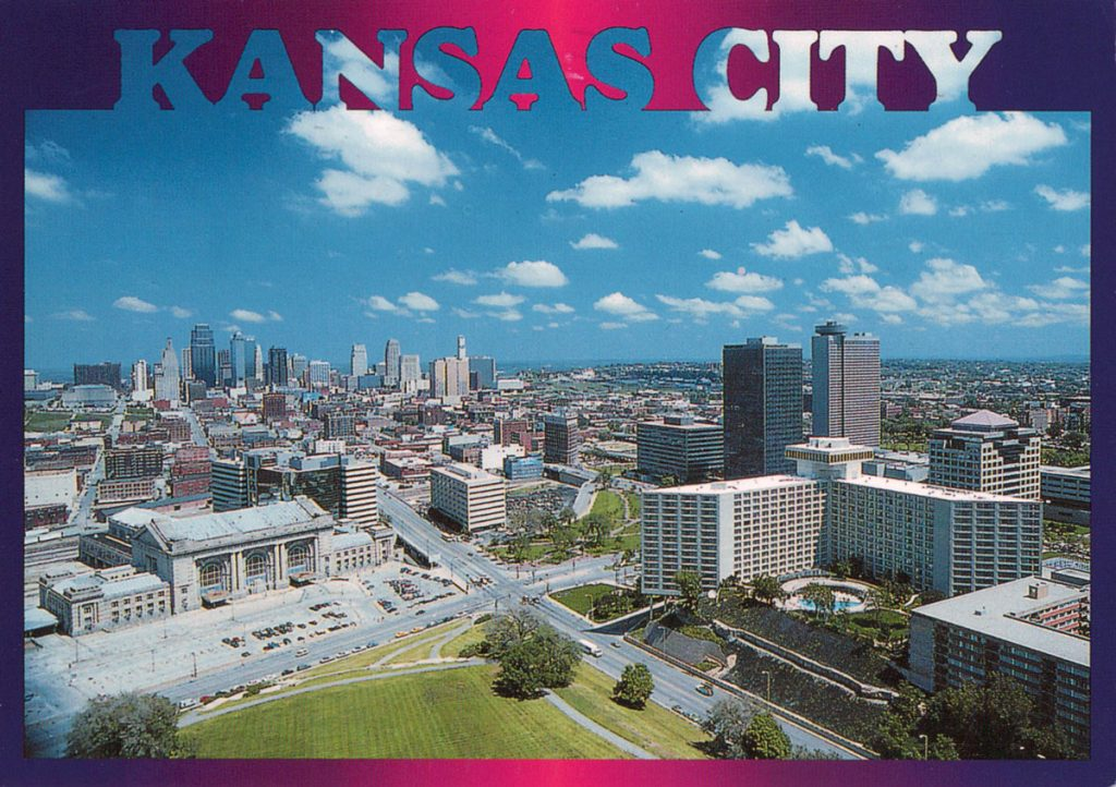 Kansas City Postcard from Nana