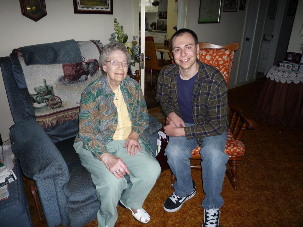 Irene and Andrew Hagenbuch, 2008