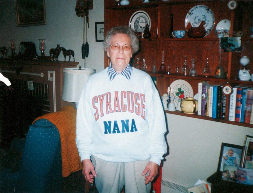 Nana, Irene (Faus) Hagenbuch, 2001