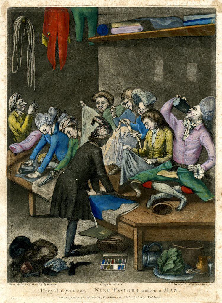 Nine Tailors 1774