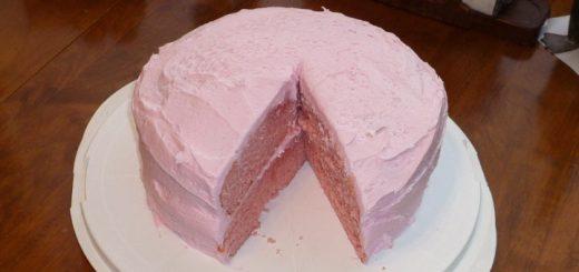 Wintergreen Cake Detail