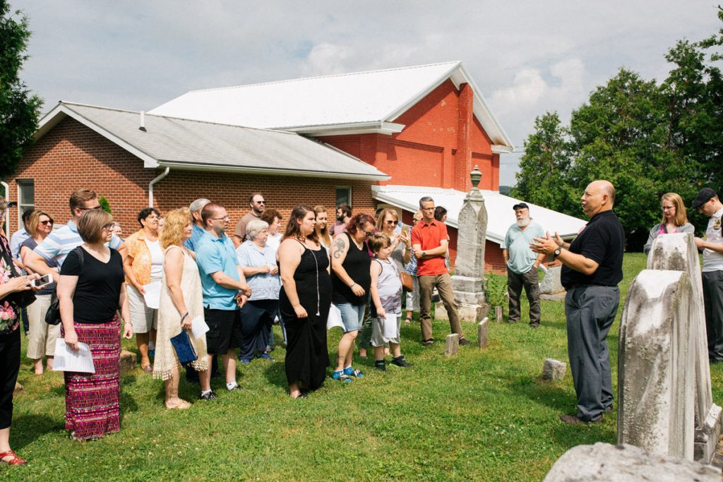 74th Hagenbuch Reunion Cemetery Tour