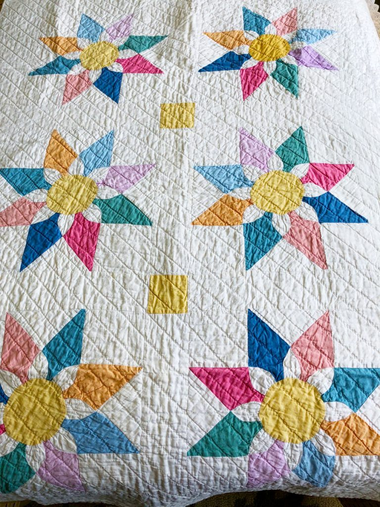 Crib quilt Joanne Griffith