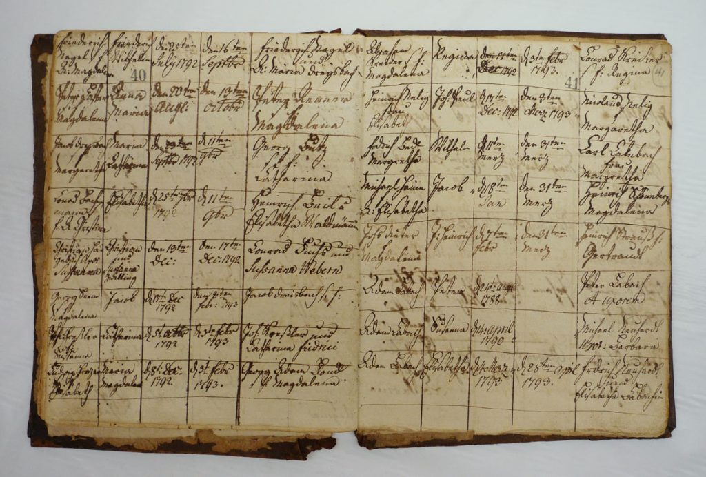 Zion Stone Church Baptism Record Book