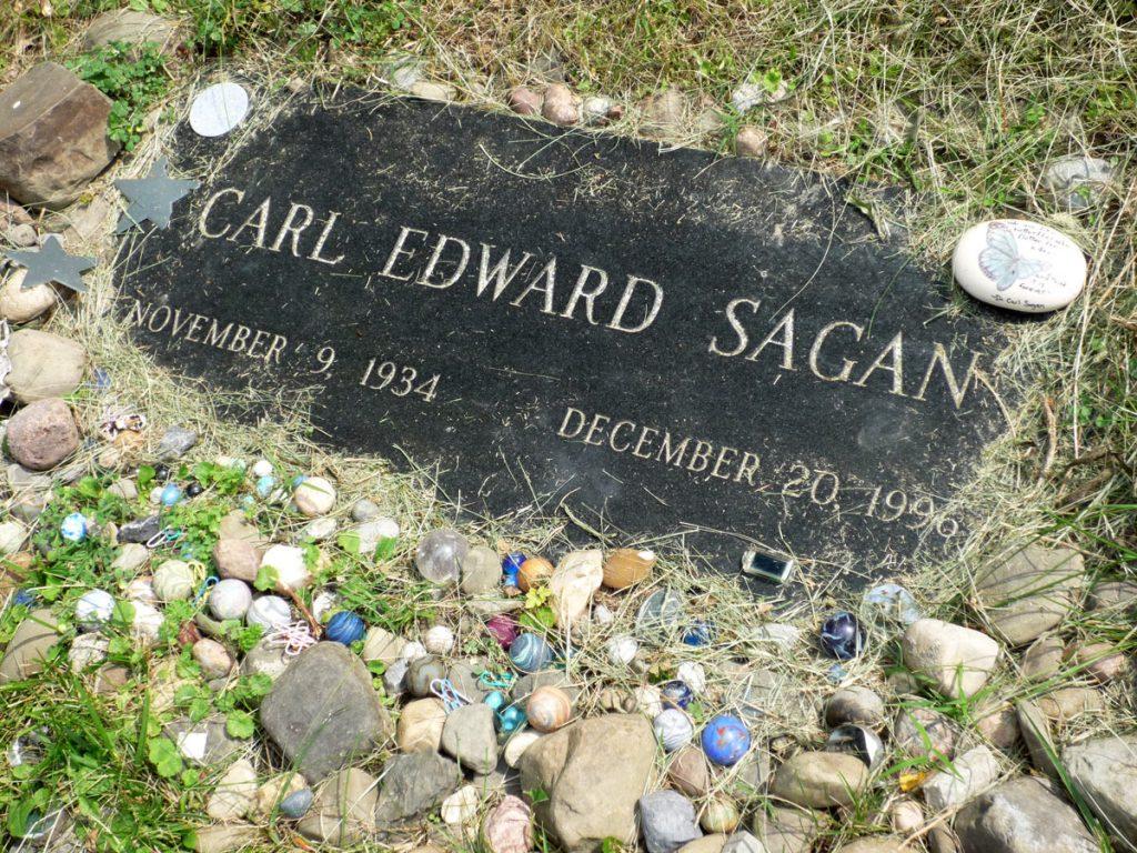 Carl Sagan Gravestone