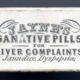 Dr. D. Jayne's Sanative Pills Box