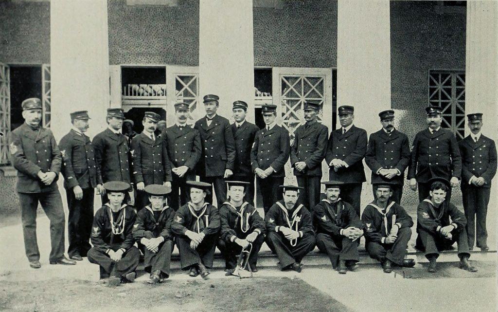 William Louis Hagenbaugh in US Navy, 1904