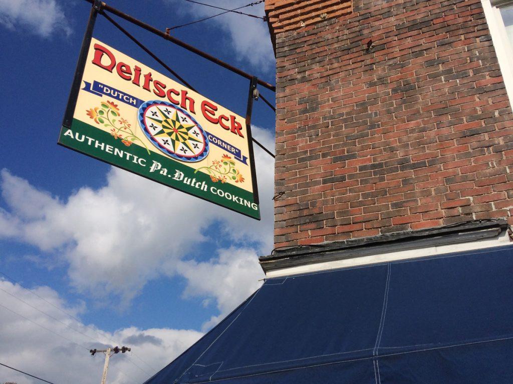 Deitsch Eck Restaurant Lenhartsville, PA