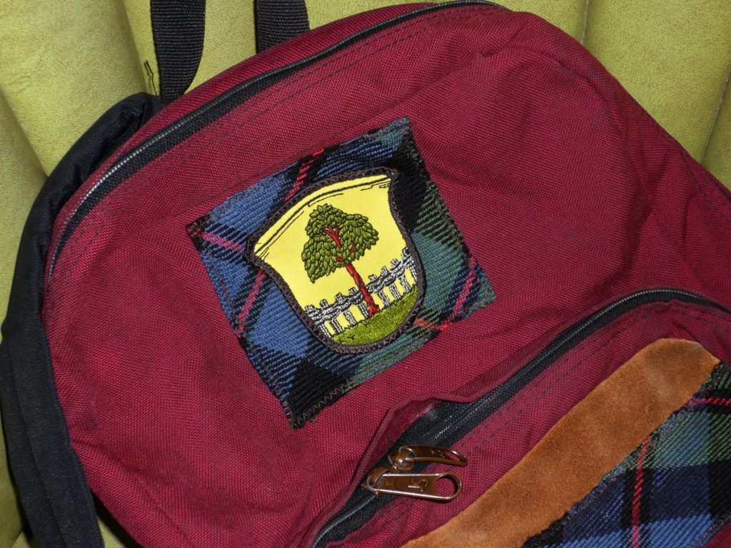 Hagenbuch Crest Patch Backpack